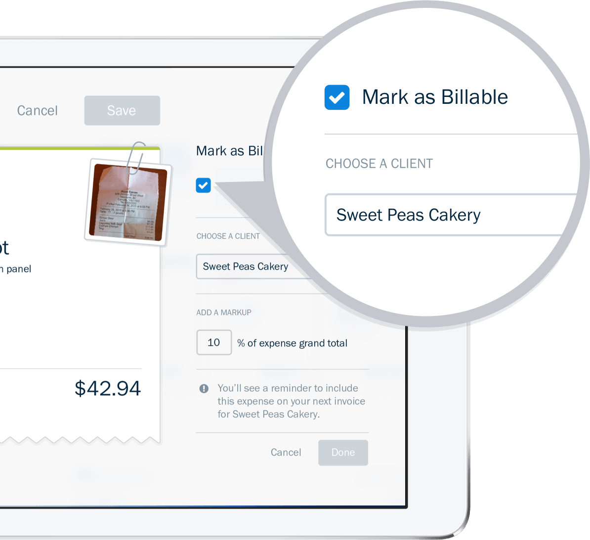 Easily Bill Your Client For Expenses